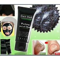Black Deep Cleansing Purifying Blackhead Pore Removal Peel-off Facial Mask (Size: 2, Color: Black) [9305875975]