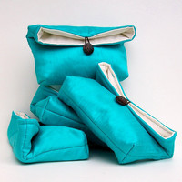 Wedding Clutch Set Many Colors Available Wedding by EdensWake