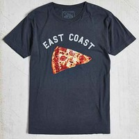 East Coast Pizza Tee- Charcoal