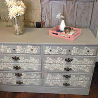 Baumritter Dresser, Solid Maple Chest of Drawers