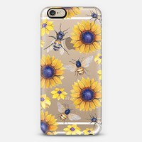 Flowers and the Bees iPhone 6 case by frenchpress | Casetify