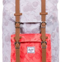 Herschel Supply Little America Grey & Red Orchard 14.5L Backpack