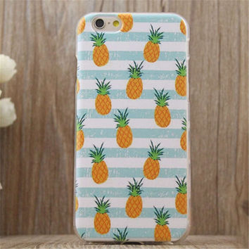 Pineapple Print iPhone Case Summer