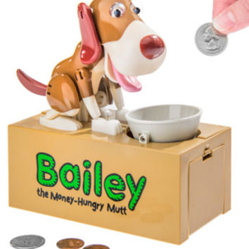 Bailey the Dog Bank: Animatronic Canine Coin Storage.