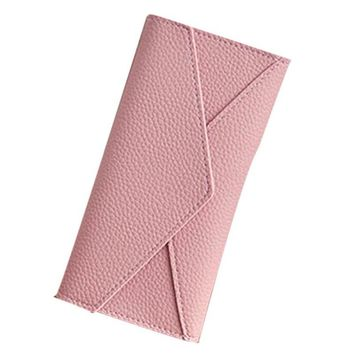 Casual Wallet Women Carteira Daily Use Artificial Leather Clutches Handbag High Quality Clutch Purse Fashion small Wallet