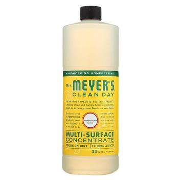 Mrs. Meyer's Clean Day - Multi Surface Concentrate - Honeysuckle - 32 fl oz - Pack of 6
