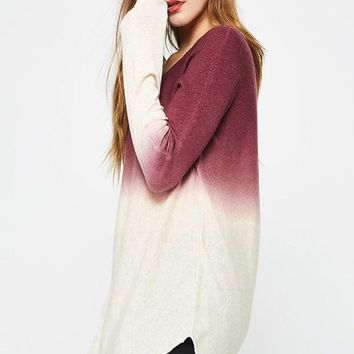 Anastasia Ombre Lightweight Pullover