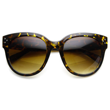 Oversize Womens Designer Cat Eye Sunglasses 8814