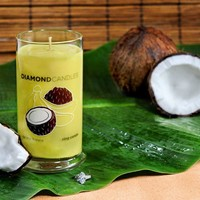 Coconut Banana Ring Candle