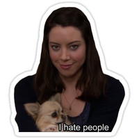 April Ludgate- I hate people by ICE COLD