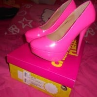Neon Pink Heels BRAND NEW!! from CherryKreations21