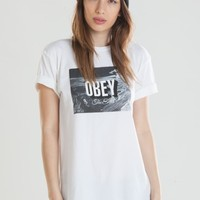 OBEY-THE-END CLASSIC TEE