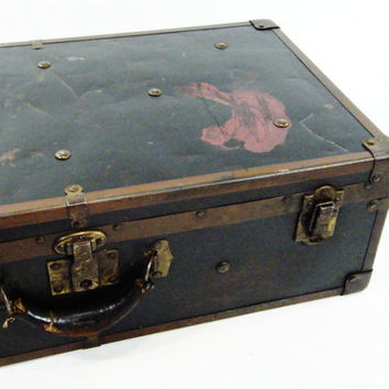 Antique Suitcase Trunk