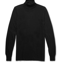 Rick Owens - Cotton-Jersey Rollneck Sweater