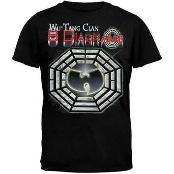 ESBONU3 Wu-Tang Clan - 8 Diagrams Foil T-Shirt