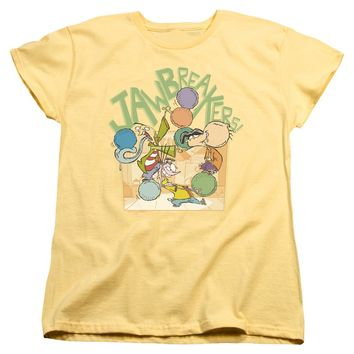 Ed Edd N Eddy - Jawbreakers Short Sleeve Women's Tee Shirt Officially Licensed T-Shirt