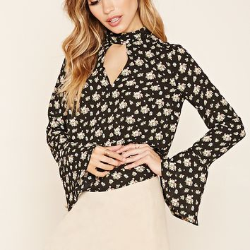 Chiffon Floral Top