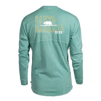 Official NCAA University of California Santa Barbara Gauchos UCSB Ole the Women's Long Sleeve Spirit Wear Jersey T-Shirt