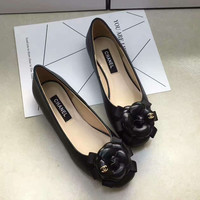 Chanel Summer Spring and Autumn Women Flats Fashion Boat Shoes Woman Casual Brand Single Shoes G-ALXY
