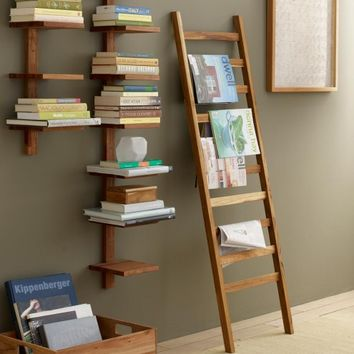 Recycled Golden Teak Ladder