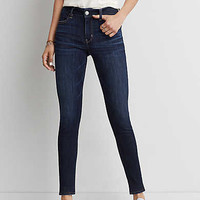 AEO Denim X Hi-Rise Jegging, Deep Sea Blue