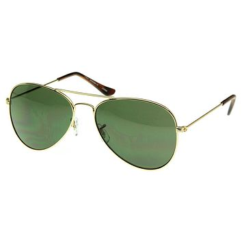 Celebrity Classic Metal Military Aviator Sunglasses 1041