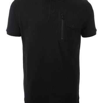 Ralph Lauren zip detail polo shirt