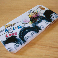 M-136-5 seconds of summer iphone 4 case iphone 4s case 5SOS iPhone 5 Case iPhone 5s Case 5SOS