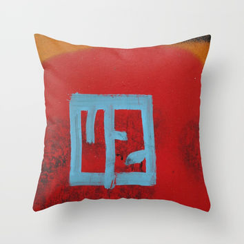 U 2 Throw Pillow by g-man