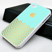 tiffani gold chevron art case for iphone case, ipod touch case, samsung galaxy case
