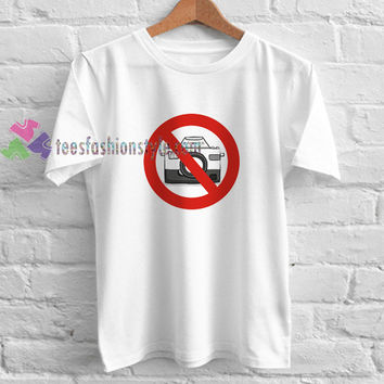 No Photo t shirt gift tees unisex adult cool tee shirts buy cheap