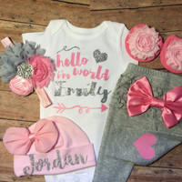baby girl coming home outfit, baby girl clothes, newborn baby girl take home outfit, newborn girl outfit, newborn girl clothes, baby shower