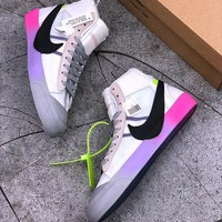 Off-White x Nike Blazer Mid Virgil Abloh x Serena Williams The Queen - Best Deal Online