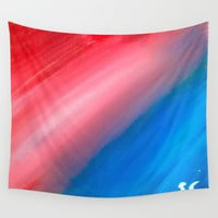 Strip of Light Wall Tapestry by Sierra Christy Art
