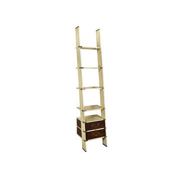 Authentic Models MF068I Ivory Library Ladder