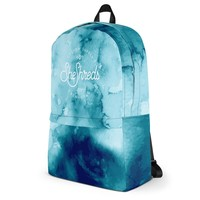 Amelia Backpack - Watercolor Blue