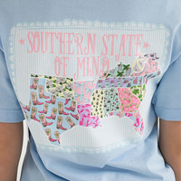 Southern State Of Mind Tee   Southern Girl Prep
