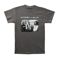 Rage Against The Machine Men's  Group Photo T-shirt Grey