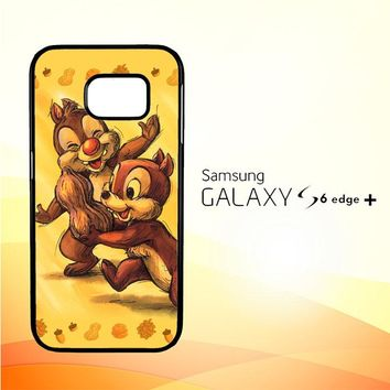Chip n Dale Childhood Memories F0392 Samsung Galaxy S6 Edge Plus Case