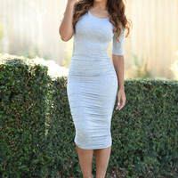 Karen Dress - Grey