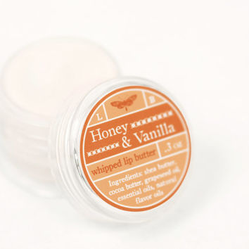 Whipped Lip Butter - Honey & Vanilla - Natural Icing for Your Lips