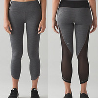 Fashion Print Exercise Fitness Gym Yoga Running Leggings Sweatpants