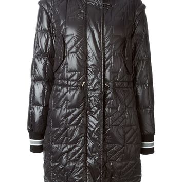Fay detachable sleeves padded coat