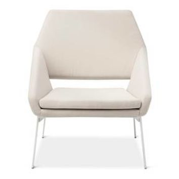 Lounge Chair White/Natural - Modern by Dwell Magazine : Target