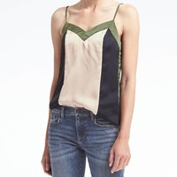 Easy Care Seamed Cami | Banana Republic