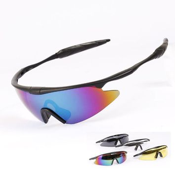 Tactical Cycling Sunglasses Windproof Riding Climbing Hiking Sports Cycling Glasses Ski Goggles Sports Protective Safety Glasses