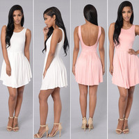 Sleeveless Summer Casual Women Sexy Party Evening Cocktail Short Mini Dress New