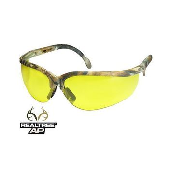 Radians Journey AP Safety Glasses, Realtree AP Camo Frame, Anti-Fog Yellow Lenses