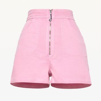 J PULL DENIM SHORT