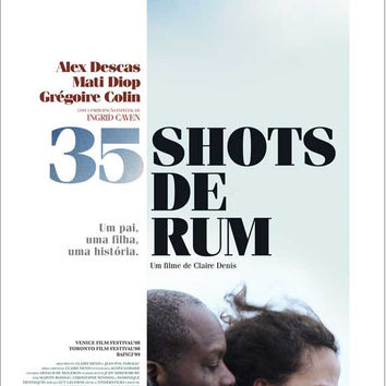 35 Shots of Rum (Portuguese) 11x17 Movie Poster (2008)